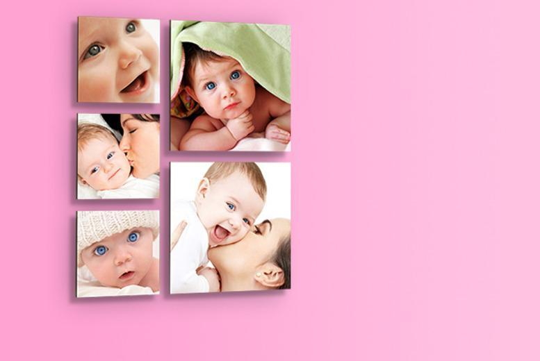 £14.99 instead of £49.99 (from 1clickprint) for a set of 5 floating photo prints - save a snappy 70%
