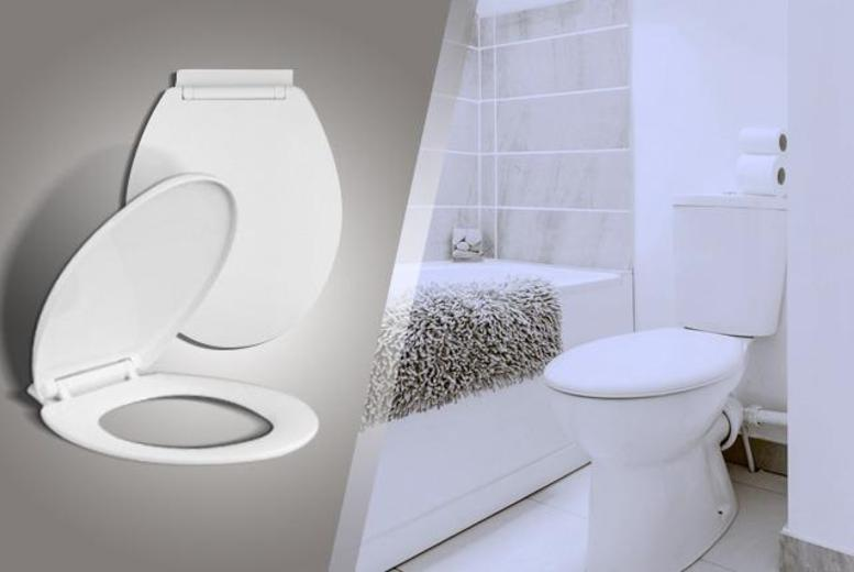 £8.99 instead of £29.99 (from My Home Perfect) for a soft-closing toilet seat - save 70%