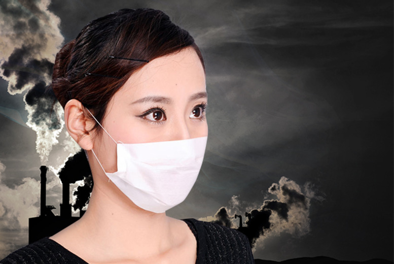 £2 instead of £5 (from Urshu) for 12 smog masks, £4 for 36 smog masks or £5 for 60 smog masks - save up to 60%