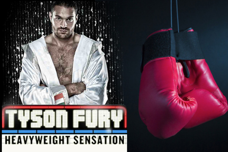 £15 for a ticket to a charity fight night with Tyson Fury on 27th April at the Clapham Grand, or £60 for a VIP ticket from Hot Ice 2000
