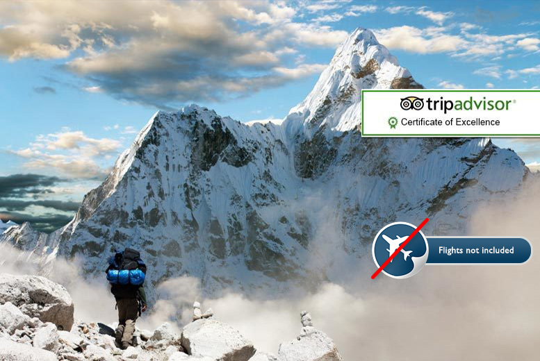 £499pp instead of up to £1610pp (from Himalayan Scenery Treks & Expedition) for a 15-day trip to Nepal with Everest Base Camp trek - save up to 69%