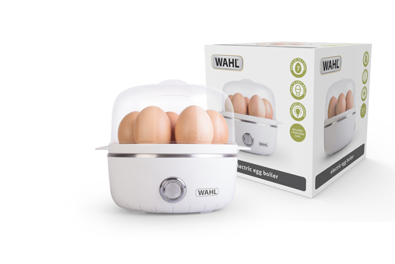 £10.99 for an egg boiler from Wahl - boil up to seven eggs at a time!