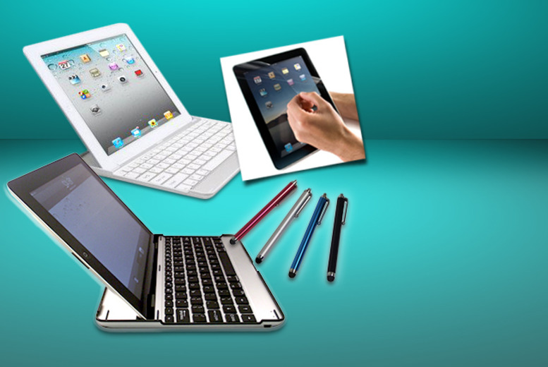 £15.99 instead of £72.99 (from Time 2) for an aluminium iPad case with Bluetooth keyboard, screen protector and touchscreen stylus pen - save 78%
