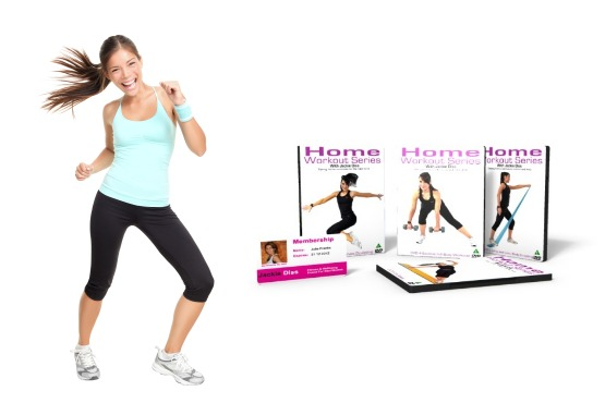 £15 instead of £35 for 4 home workout DVDs from Jackie Diss – get fit in the comfort of your home and save 57%