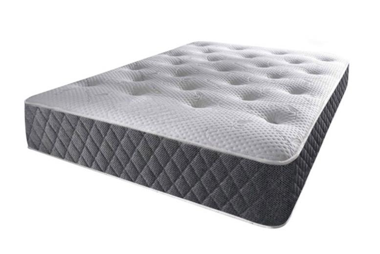 From £79 for a vertigo grey memory sprung mattress from Mattress Haven – save up to 54%
