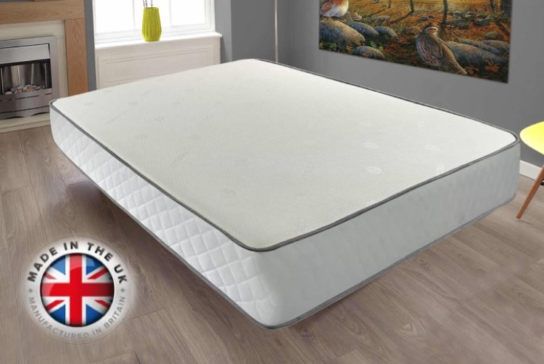 From £79 for a comfort cool memory sprung mattress from Mattress Haven – save up to 47%