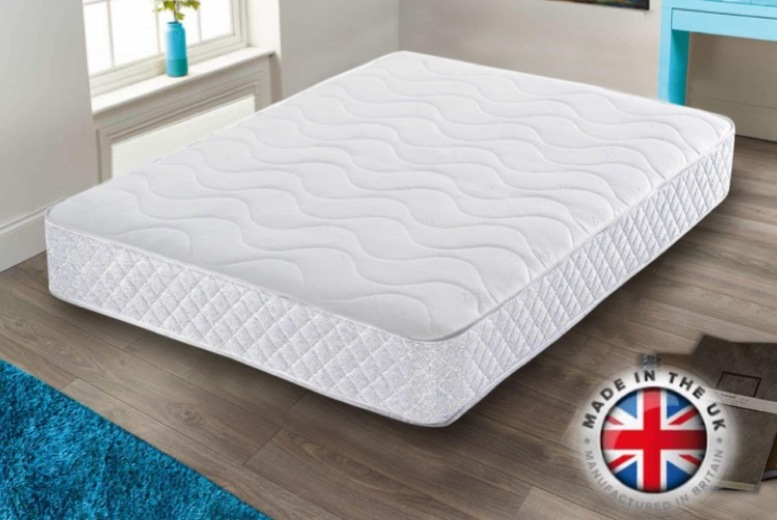 From £79 for a cool blue comfort memory mattress from Dreamtouch Mattresses LTD – save up to 47%