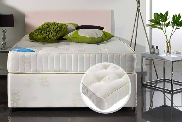 Luxury Orthopaedic Tufted Bonnell Sprung Mattress