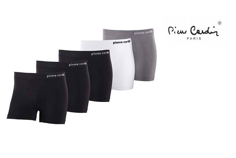 £19 instead of £31.01 (from Brand Shopping Direct) for a pack of five men's Pierre Cardin boxer shorts – choose from four colour sets and save 39%