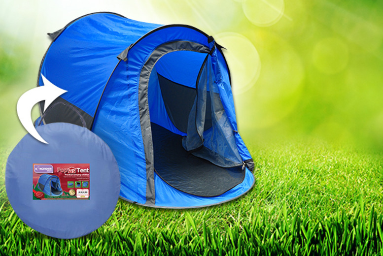 £17.99 (from Kingfisher) for a 2-person pop-up tent!
