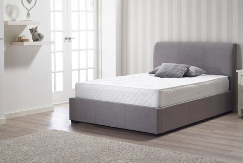 From £59 for a single, small double (£79), double (£79) or king (£99) navada hybrid memory sprung mattress from Mattress Haven – save up to 85%