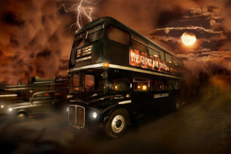 £10 instead of £20 for an Edinburgh Ghost Bus Tour inc. guidebook with 365tickets - save 50%