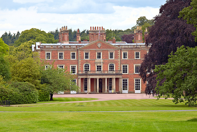 £99 instead of up to £230 (from Buckatree Hall Hotel, Shropshire) for a 2nt stay for 2 inc. 3-course dinner and 2 tickets to Weston Park - save up to 57%