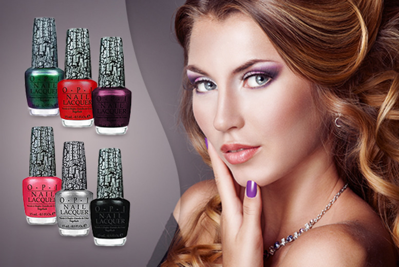 £9.99 instead of £69 (from Look 'n' Style) for a 6-piece OPI Shatter nail polish set - nail a saving of 86%