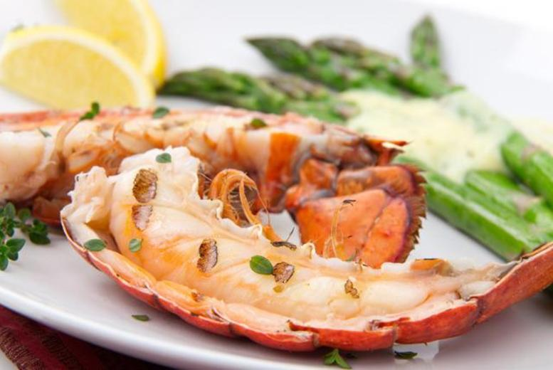 £29 for a lobster meal for 2 inc. a glass of wine and dessert each at Marisko Seafood Restaurant, Holloway Road