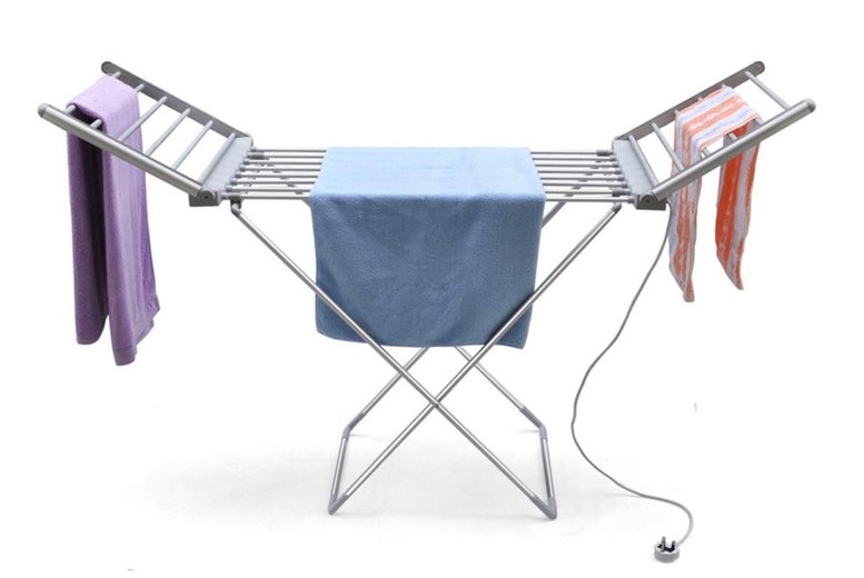 £19.99 instead of £89.99 for a standard heated clothes airer, £26.99for a winged area or £32.99 for an airer with cover from Groundlevel - save 78%