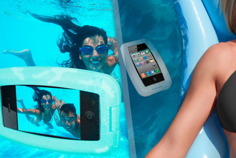 £8.99 instead of £19.99 (from Unusual Giftz) for a waterproof iPhone aqua case - save 55%