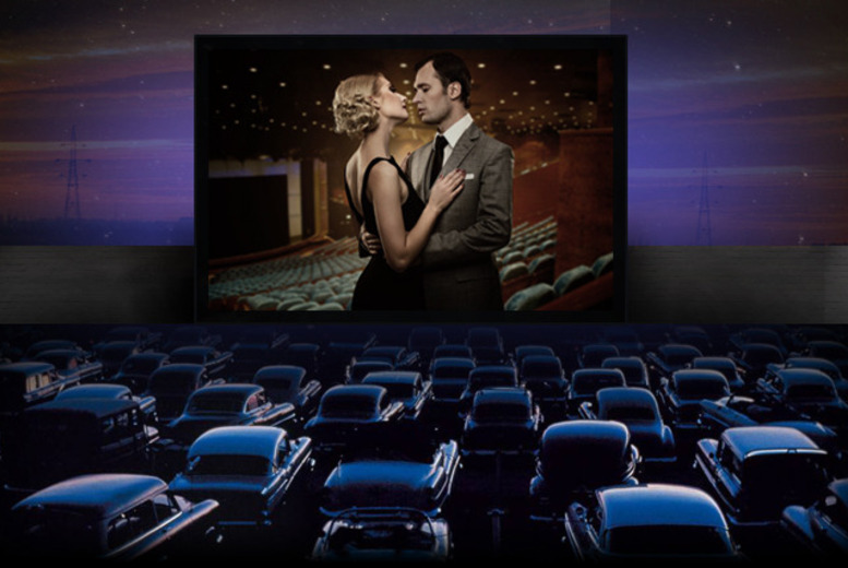 £12 for a choice of drive-in movie for up to 5, £24 inc. popcorn, pick 'n' mix & drink each from Go Go Vision Drive In, Hamilton Racecourse - save 52%