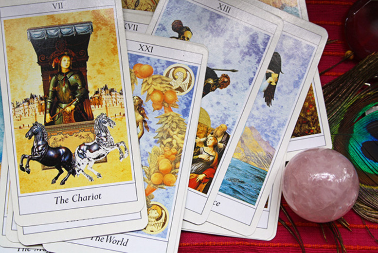 £9 instead of £30 for a 30-minute tarot or clairvoyant reading at Mystique, Edinburgh - save 70%