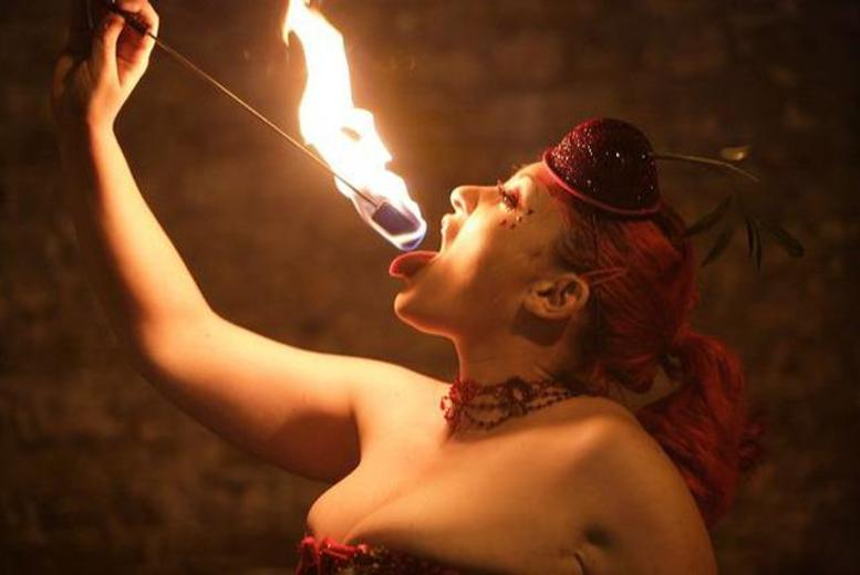 £59 instead of £140 for a 2-hour fire manipulation course inc. fire eating with The Fire School - learn a new party trick & save 58%