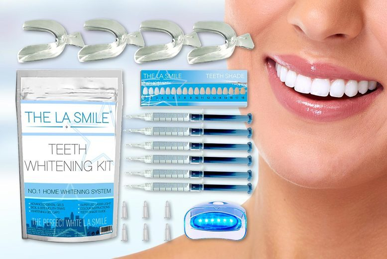 Image of La Smile Teeth Whitening Kit | Living Social