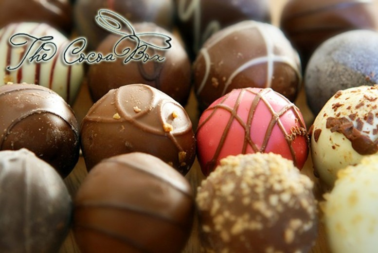£29 for a 2-hour chocolate truffle making course inc. a chocolate Martini at The Cocoa Box