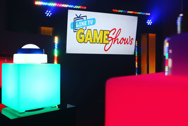 From £69 for a TV family game show family experience for up to six from Like TV Game Shows, Birmingham - try and win prizes and save up to 37%