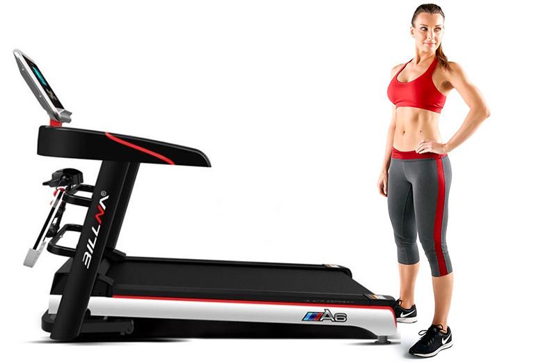 Image of Billna A6 Foldable Treadmill   Living Social