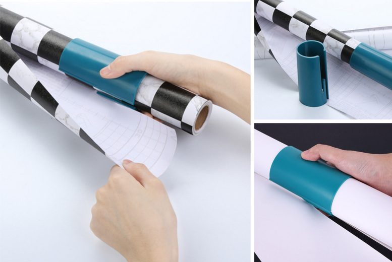 £2.99 instead of £19.99 (from Pink Pree) for a sliding wrapping paper cutter, £5.49 for two cutters or £7.99 for three cutters - save up to 80%