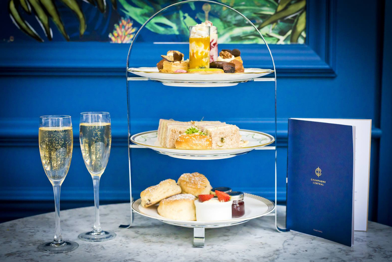 Image of 4 Grand Central Afternoon Tea For 2 | Regional | Living Social