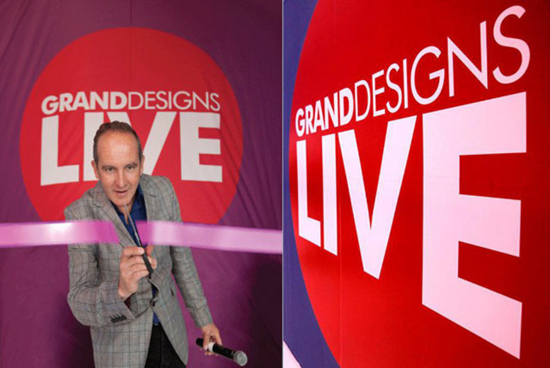 £12 instead of £30 for 2 weekday tickets to the Grand Designs Live show, £15 for weekend tkts or £39 for VIP tkts @ ExCeL, London - save up to 60%