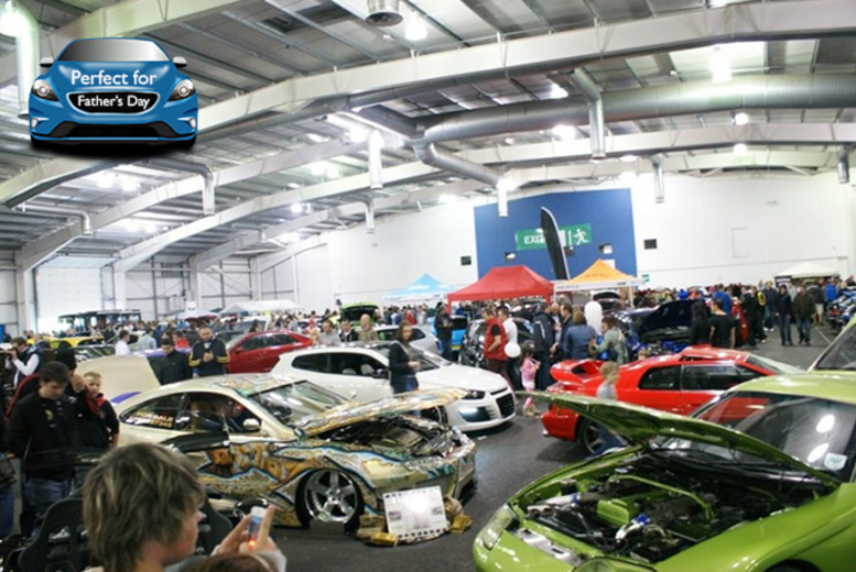 £11 instead of £22 for one 'queue jump' fast-track entry ticket to the Scottish Car Show 2014, or £21 for two tickets - save up to 50%