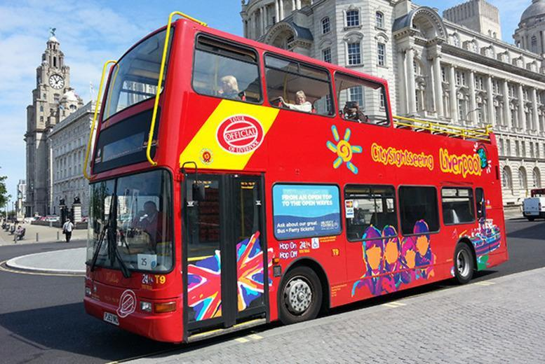 £9 instead of £20 for an open-top city sightseeing tour for 2 or £12.50 for a family of 5 with City Sightseeing - save up to 55%