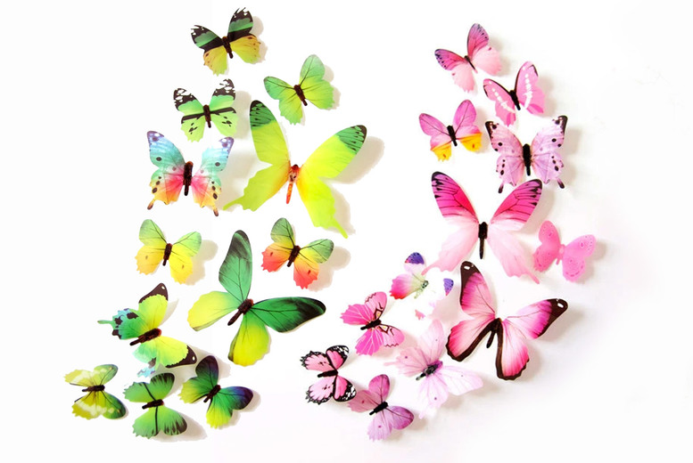 £6.99 for 60 butterfly stickers or £8.99 for 120 butterfly stickers from Domo Secret