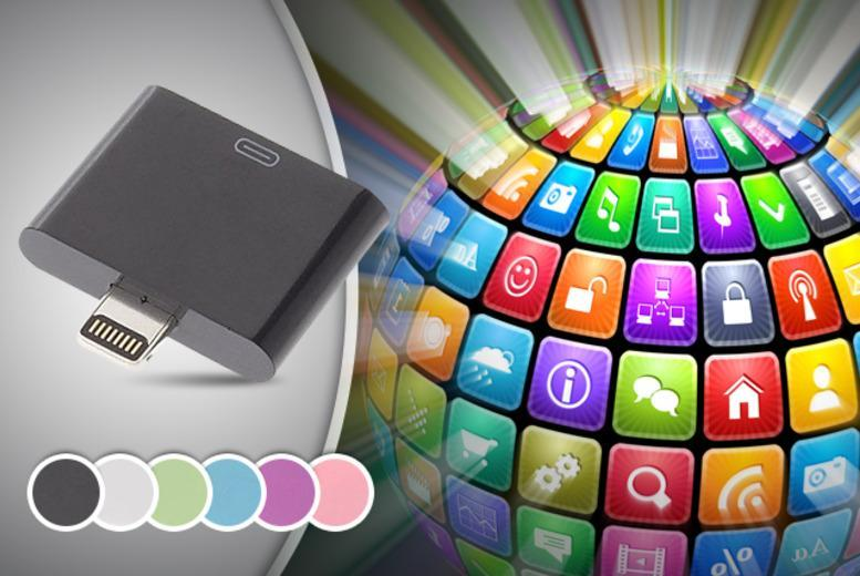 £5.99 instead of £13.99 (from Links 4) for an iPhone 5 pin adapter - save 57% + DELIVERY INCLUDED
