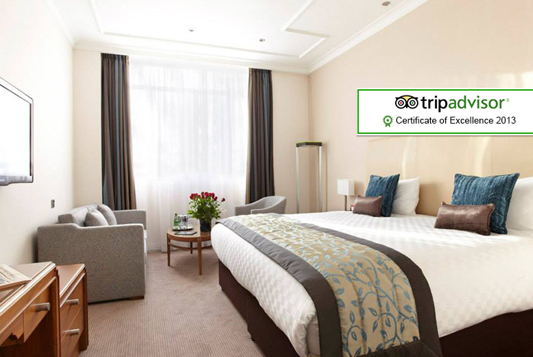 £89pp (from The Omega Holidays Group) for an overnight stay at the 4* Thistle™ Euston inc. top-price Thriller Live ticket - save up to 43%