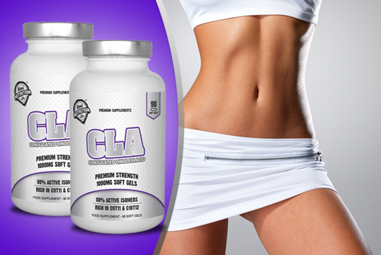 £9.99 instead of £32.99 (from Real Nutrition Company Ltd) for 90 CLA soft gels, or £17.99 for 180 soft gels - save up to 70%