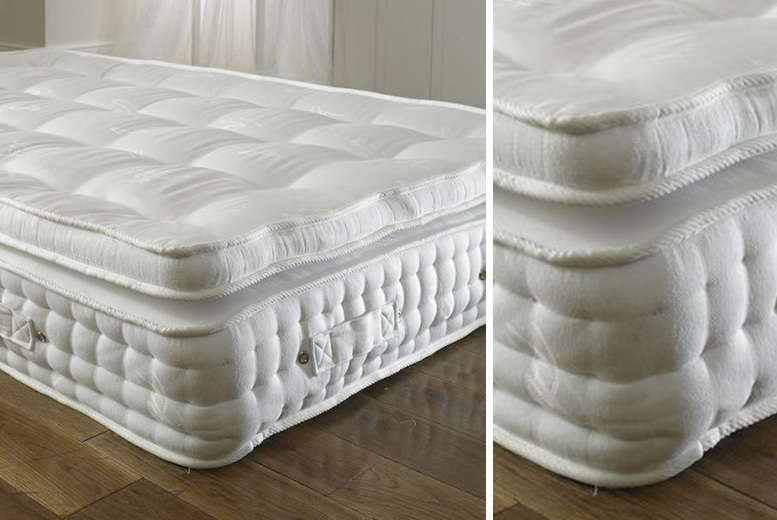 From £119 for a 2000 pocket spring organic pillow mattress from Dining Tables – save up to 57%