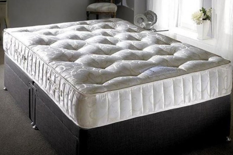 From £85 instead of £279.01 for a 3000 cashmere pocket spring mattress from Dining Tables - save up to 70%