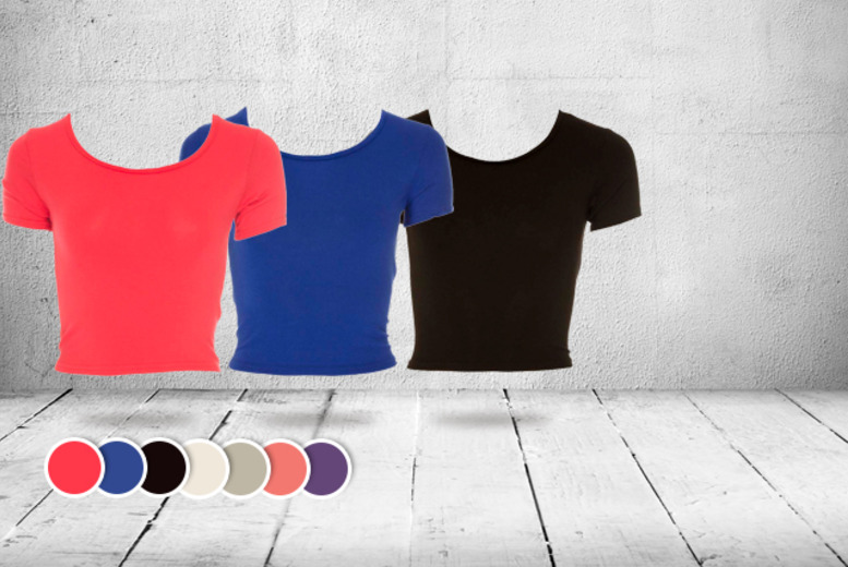 £6 instead of £14.99 (from iKrush) for a crop top in a choice of colours, £10 for 2 crop tops - save up to 60%