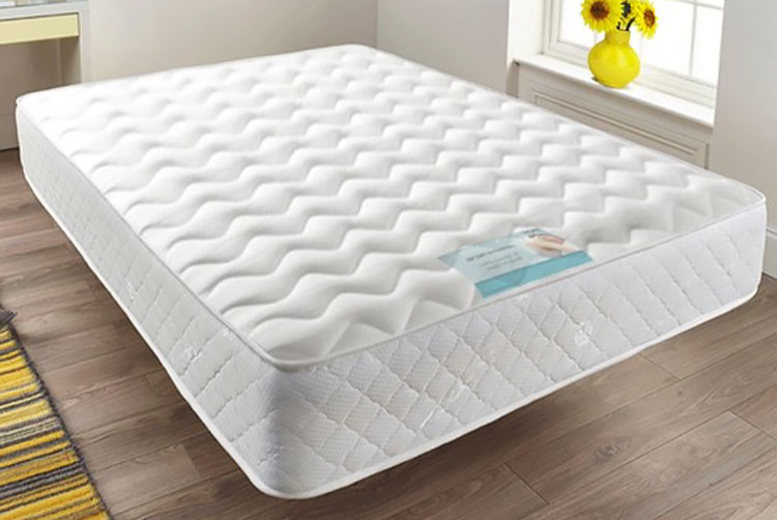 From £44 for a quilted sprung memory foam mattress from Dining Tables- choose from six sizes and save up to 70%