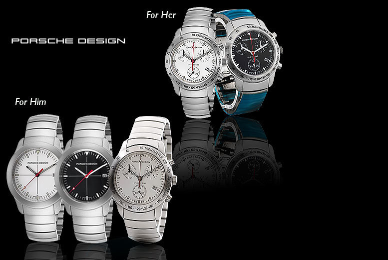 Luxury Porsche Design Watch
