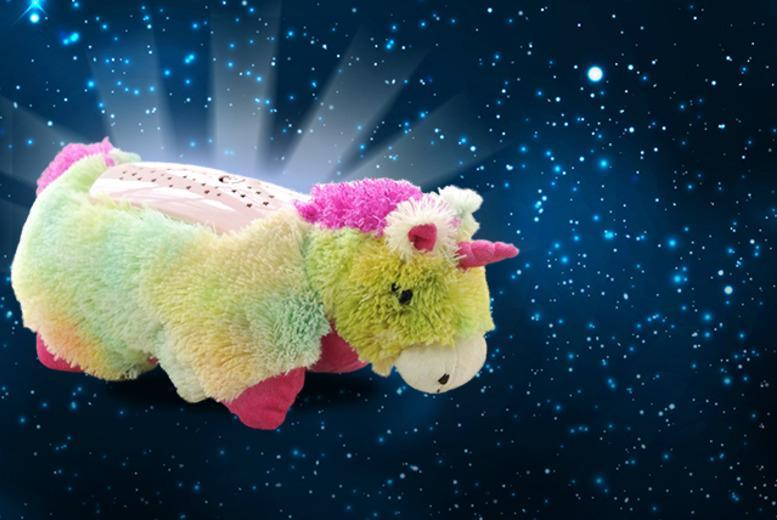 £9 instead of £29.99 (from Web 18) for a Pillow Pets rainbow unicorn starlight projector pillow - save 70%