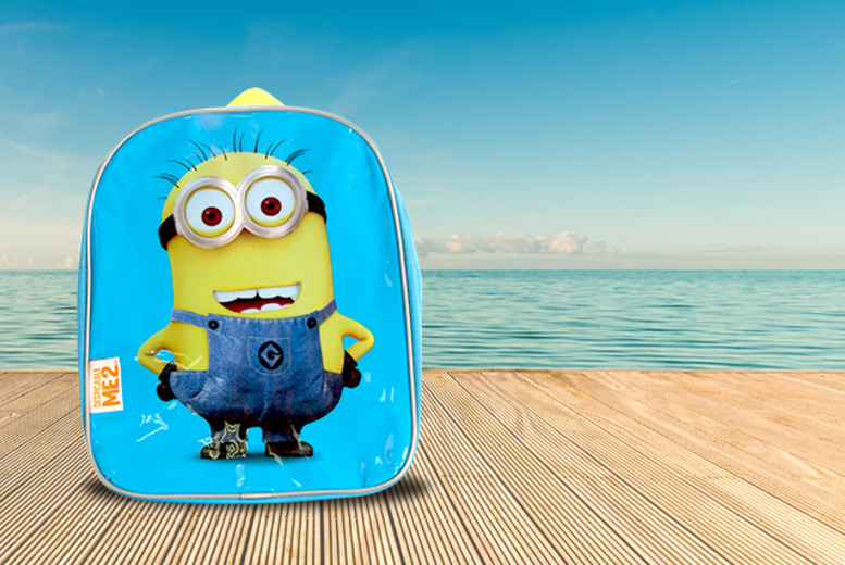 £4.99 instead of £9.99 for a Despicable Me 2 'Minions' junior backpack, £8.99 for 2 from Wowcher Direct - save 50%