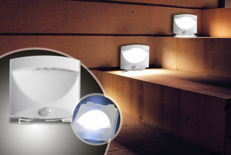 £6.49 (from LEDlive.co.uk) for an LED motion sensor stair light, £17.99 for 3, £29.99 for 6 or £39.99 for 9 - save up to 50%