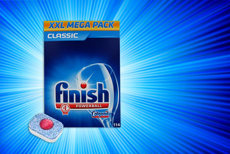 £9.99 (from Merchtopia) for a pack of 114 Finish Powerball dishwasher tablets, £18.99 for 228 or £36.99 for 456 - save up to 41%