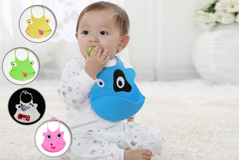 £4 instead of £9.99 (from London Exchainstore) for one wipe-clean animal bib in a choice of designs, or £7 for two - save up to 60%