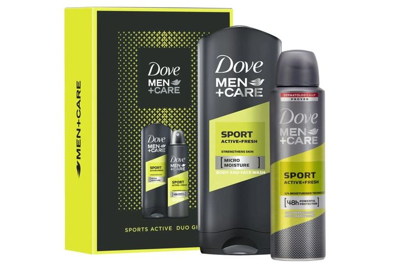 From £7.49 for a Dove Men + Care Sports Duo Gift Set from Avant-Garde Brands Ltd - save up to 50%