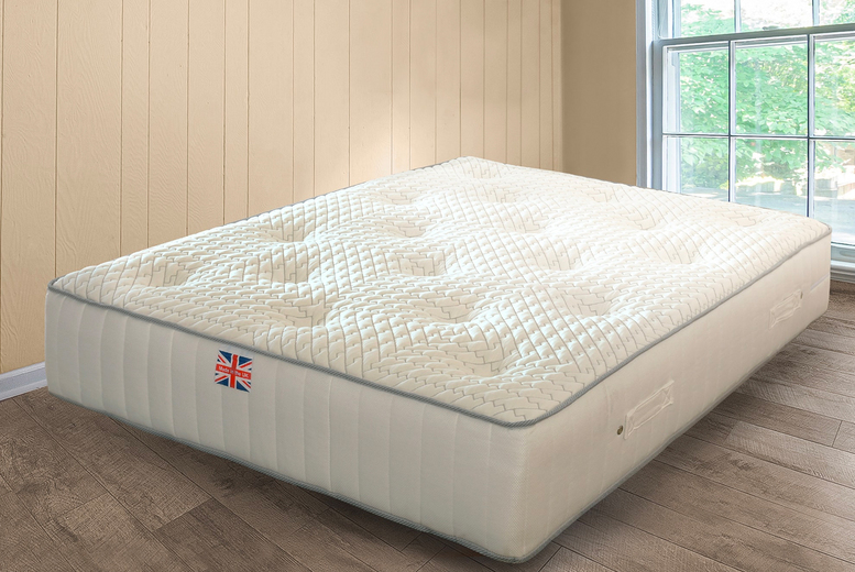 From £99 instead of £199.99 for a velocity pocket sprung mattress in single, double or king sizes from UKFurniture4U and save up to 50%