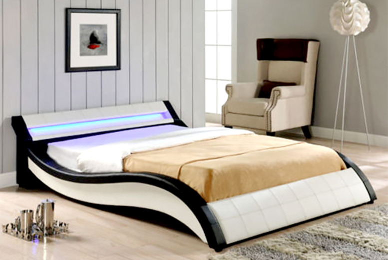 £219 instead of £480 (from Home Arena) for double or king size LED Como bed - save 54%